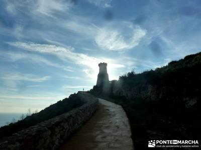 Montgó - Catedral Senderismo- Cova Tallada; cercedilla calzada romana excursiones con niños en mad